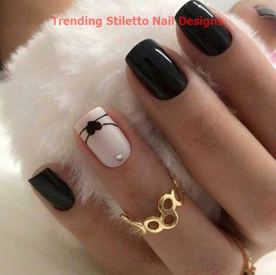 Photo of 30 GREAT STILETTO NAIL ART DESIGN IDEAS 1  #nailideas #nails
