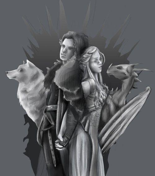 Game Of Thrones Season 7 Episode 6 Leak Daenerys Drastic: Game Of Thrones Jon And Daenerys By RhapsodyHeart In 2019