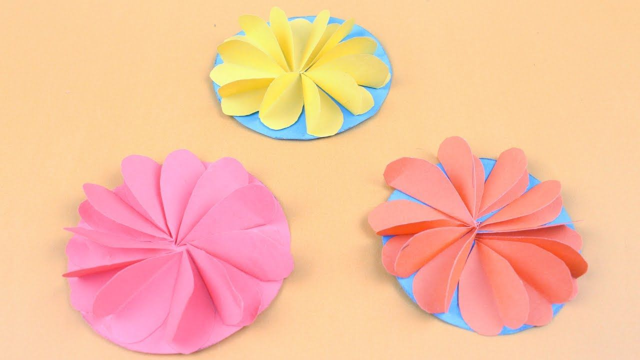 Origami Flowers Easy Tutorial How To Make Origami Flowers Step By