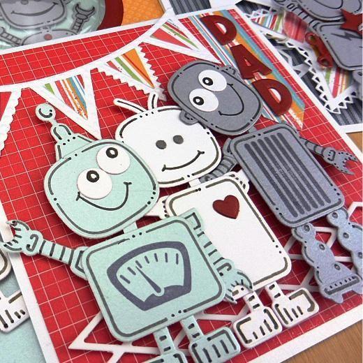 Doodlebots - Robot Cards For Boys & Men