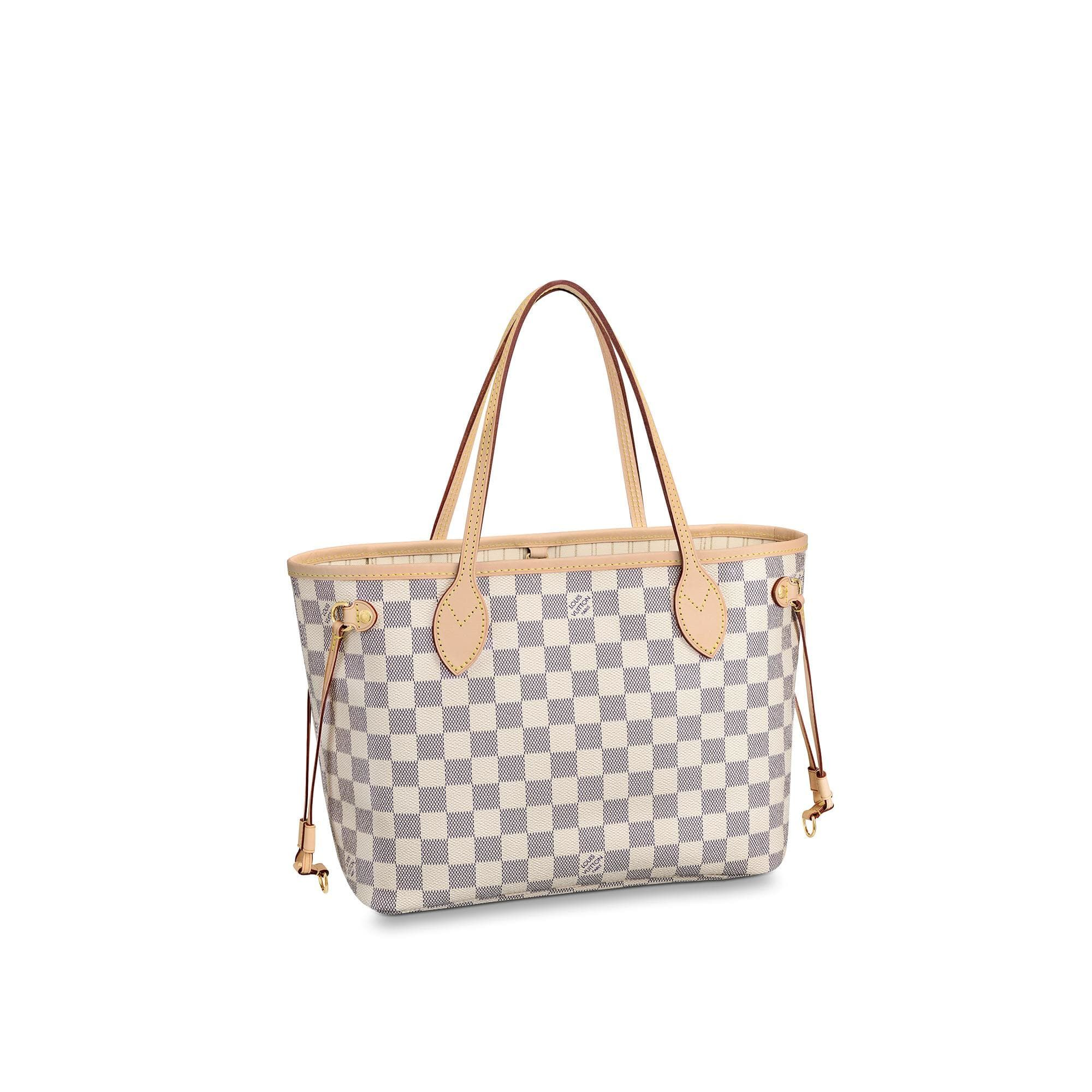 Neverfull GM Damier Azur Canvas - HANDBAGS  1fbcc786e8bb2