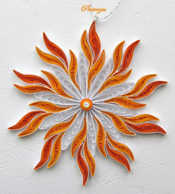 ART with PAPEL SNOWFLAKES
