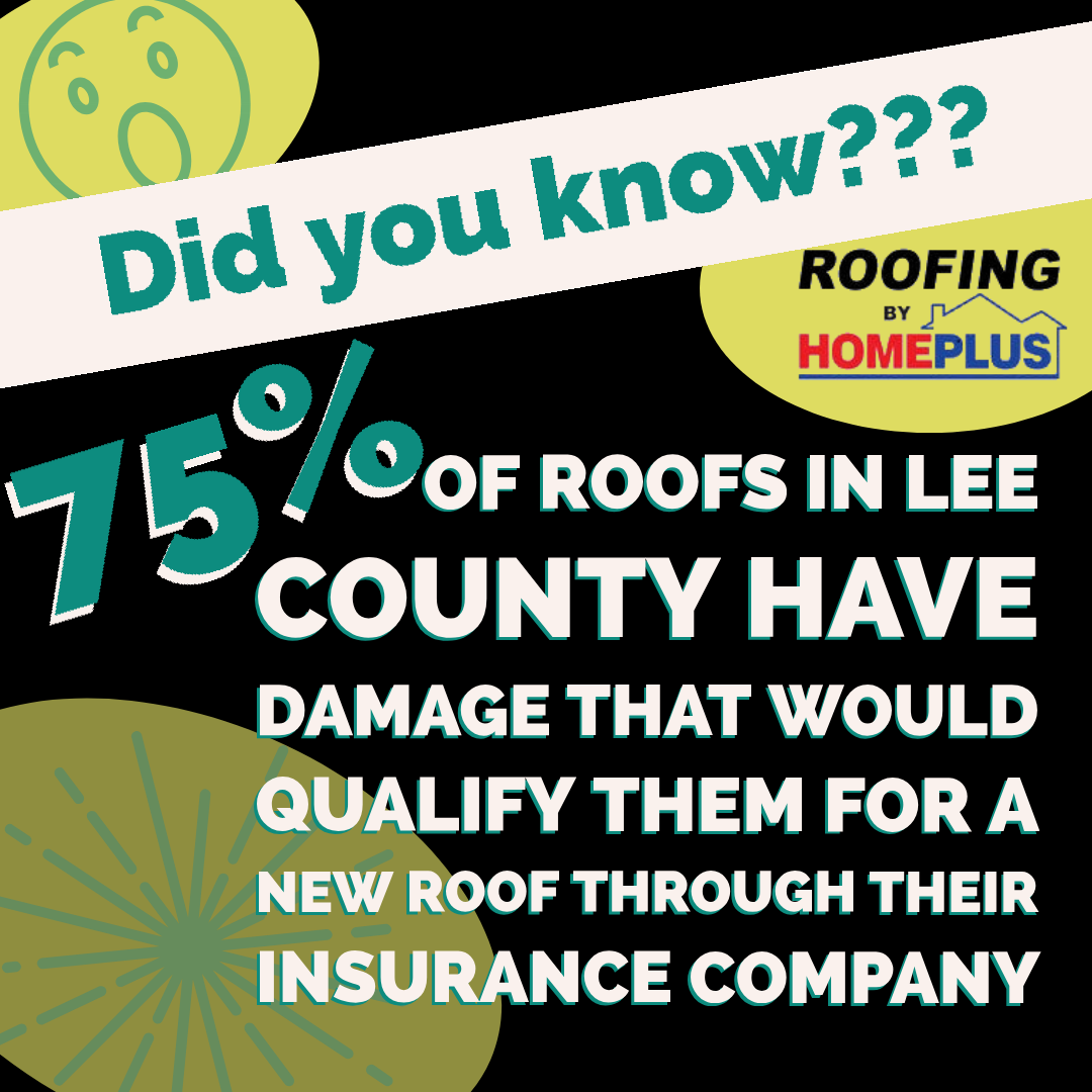 Give Us A Call Today To Get Your Free Roof Inspection 239 789 6496 Www Homeplusinc Com Rooftober Ifyourroofislea Roofing Roofing Estimate Roof Inspection