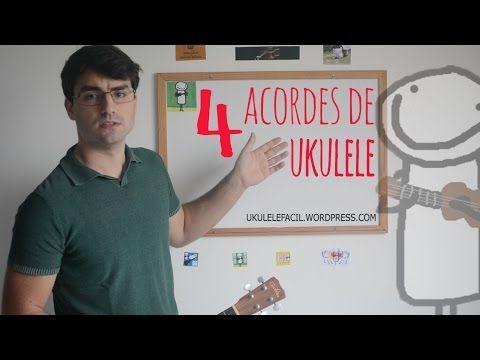 Aprenda 4 acordes básicos de ukulele   Ukulele Fácil