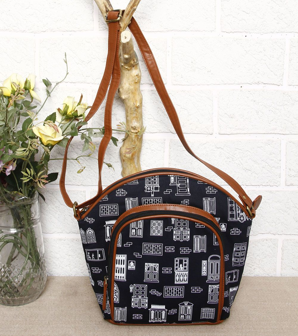 Canvas And Leather Bags India