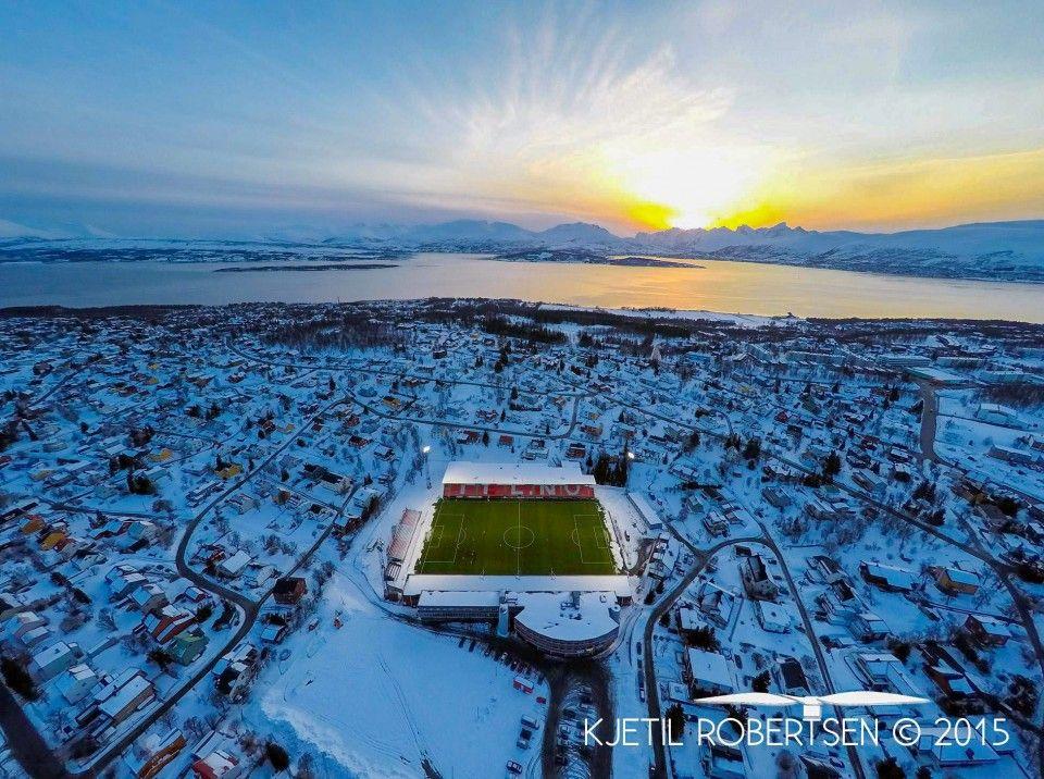 Spektakulært sett fra oven. | Blogg Nordlys