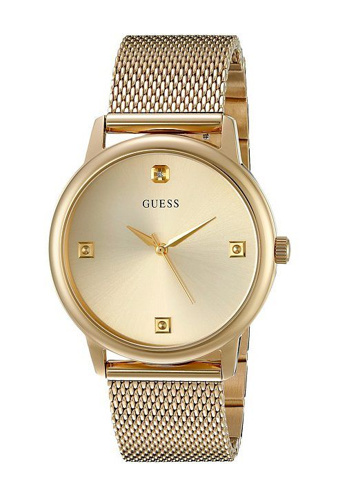 GUESS U0280G3 Wafer (Gold) Dress Watches - GUESS, U0280G3 Wafer, U0280G3,