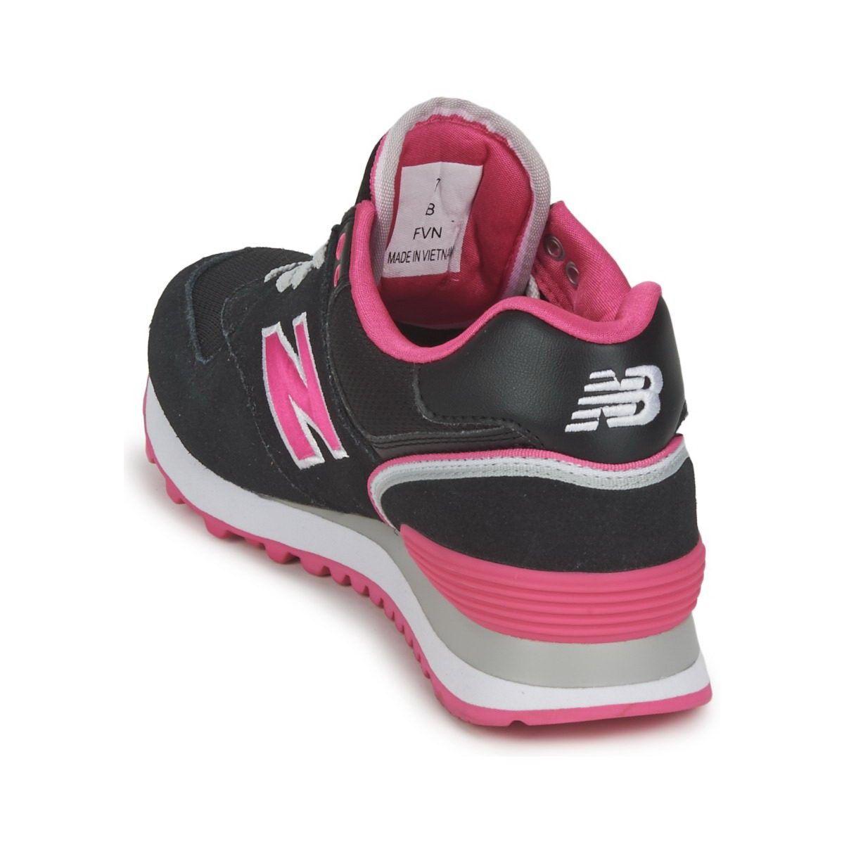 New Balance 574 Women's Black Pink