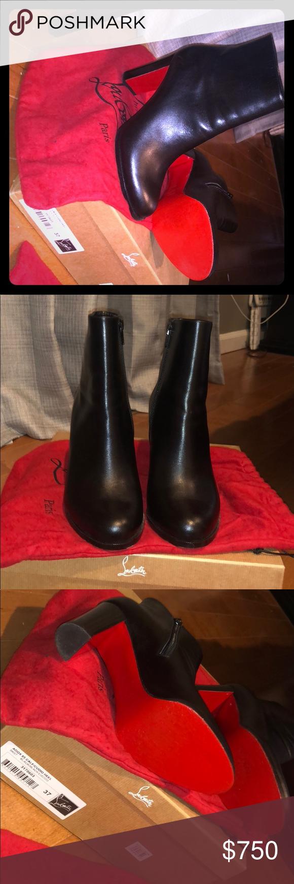 buy online 7331e cbdf3 Christian Louboutin ADOX 85 CALF/CUOIO HEEL Only worn twice ...