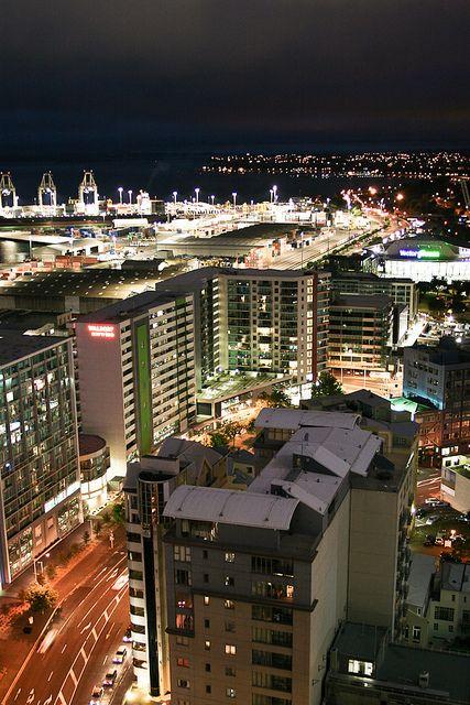 Auckland City, Nueva Zelanda hermosa naturaleza