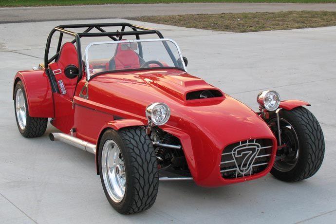 Brunton SuperStalker  Lotus Seven Clone Supercharged V6 powered