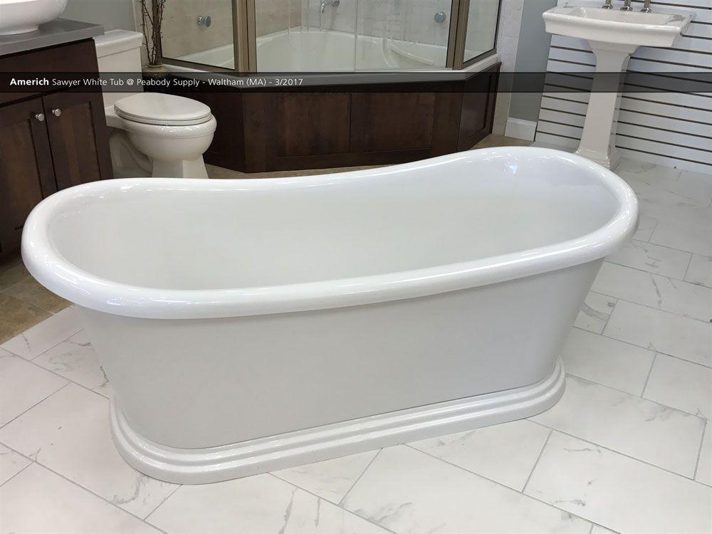 americh sawyer white tub @ peabody supply - waltham (ma) - 3/2017