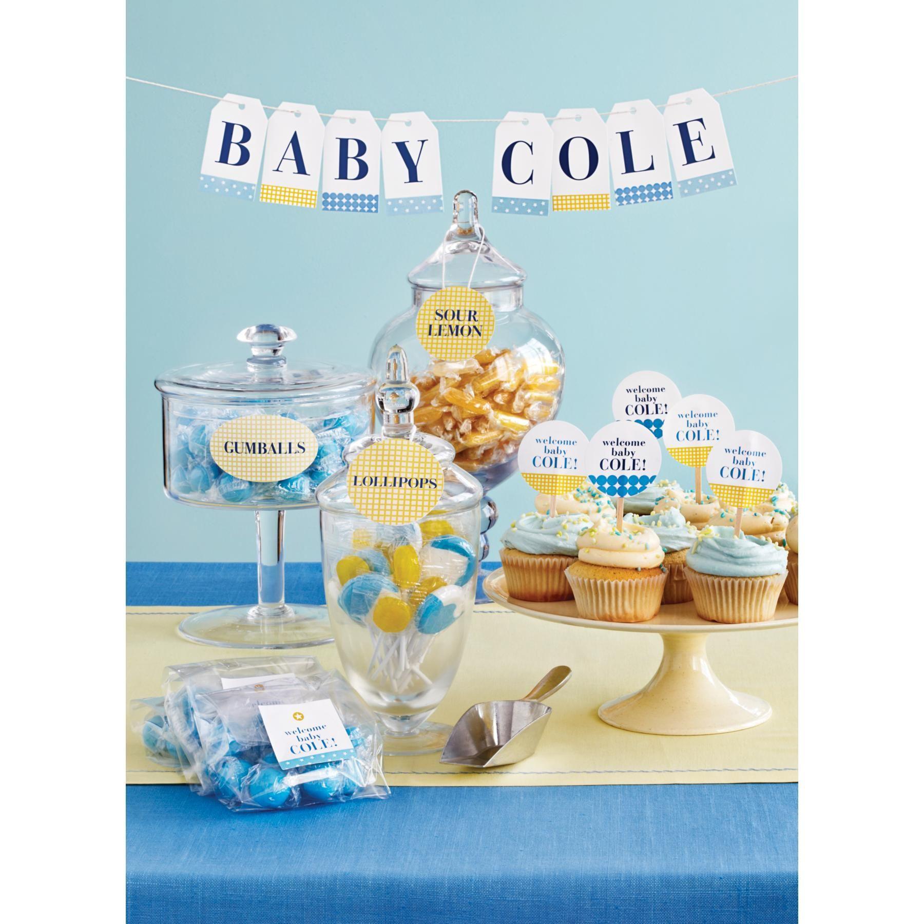 Host a beautiful baby shower with with free martha stewart - Martha stewart decoracion ...