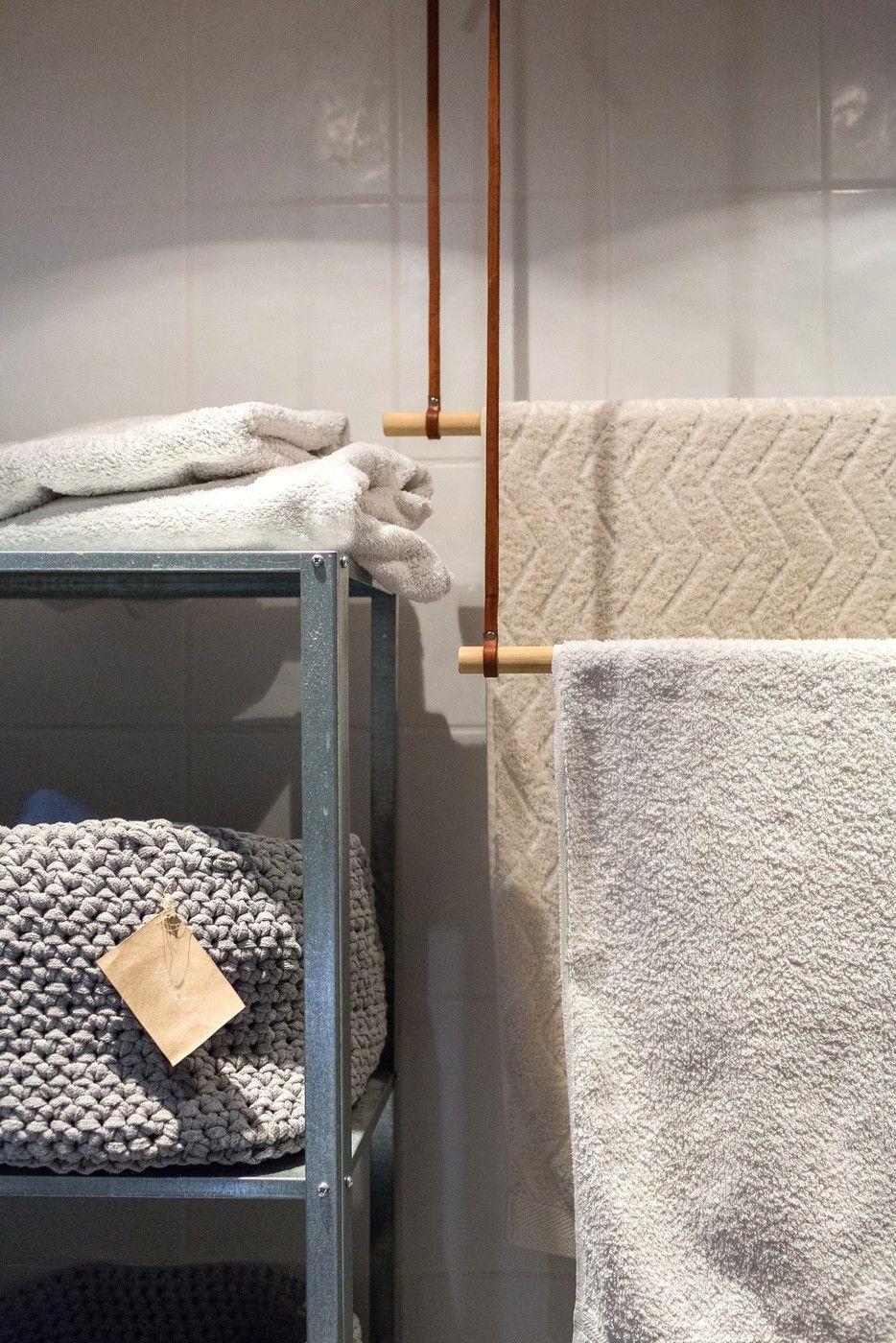 diy-vinkki pyyhetanko kestävä ekologinen sisustus koti - modernekohome   Lily.fi