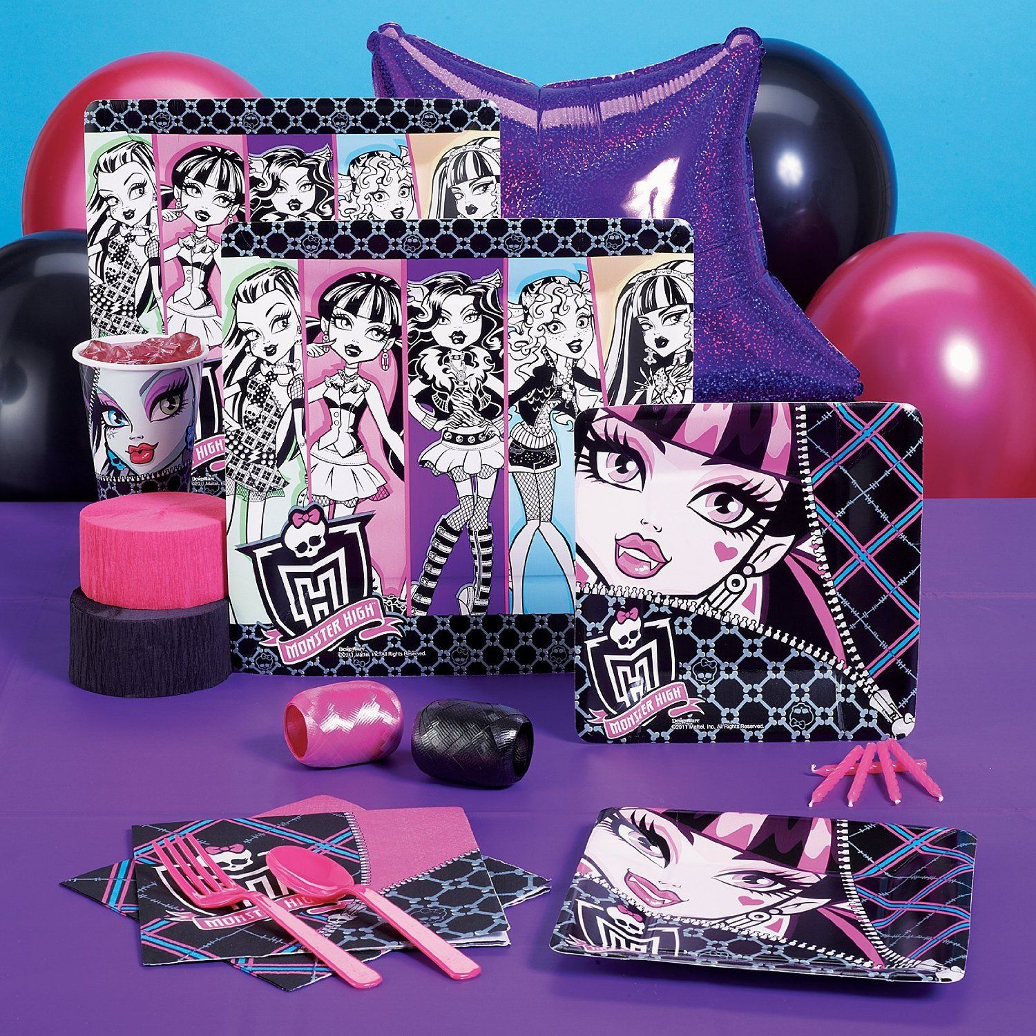 10 Year Girl Birthday Party Ideas Kids' Supplies Monster High