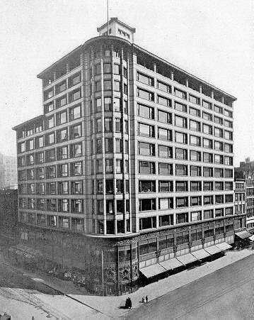 Louis Sullivan Carson Pirie Scott Building Chicago 1899