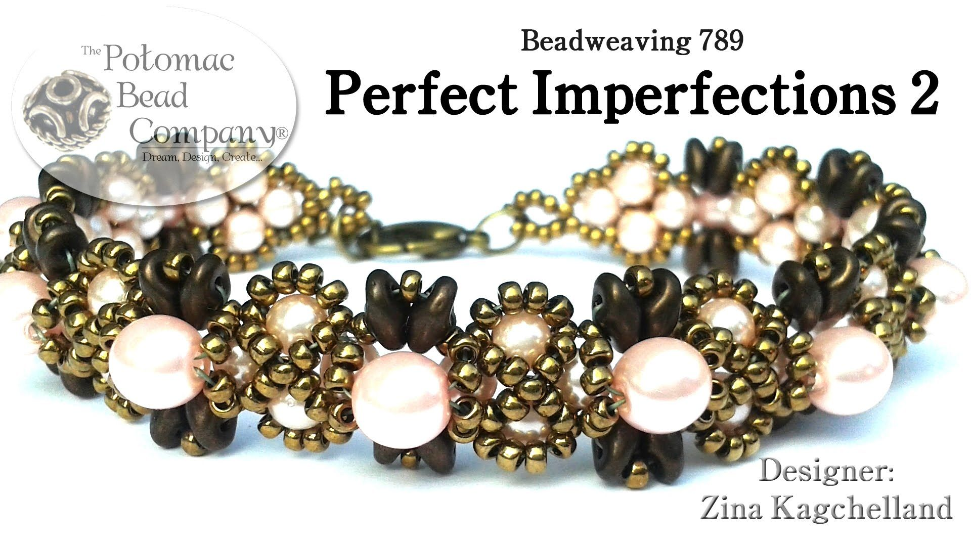 Perfect imperfections bracelet you tube tutorials pinterest