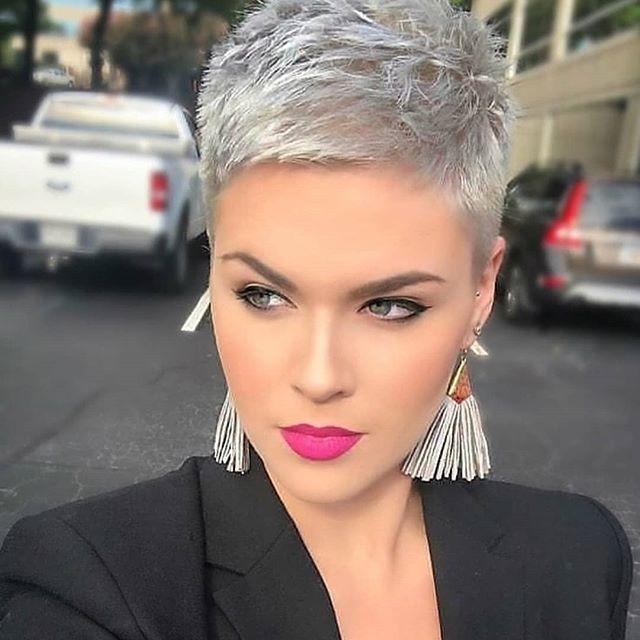 59 Neue Trends Kurzhaarfrisuren Blond Short Hair Hacks Thin Fine Hair Super Short Hair