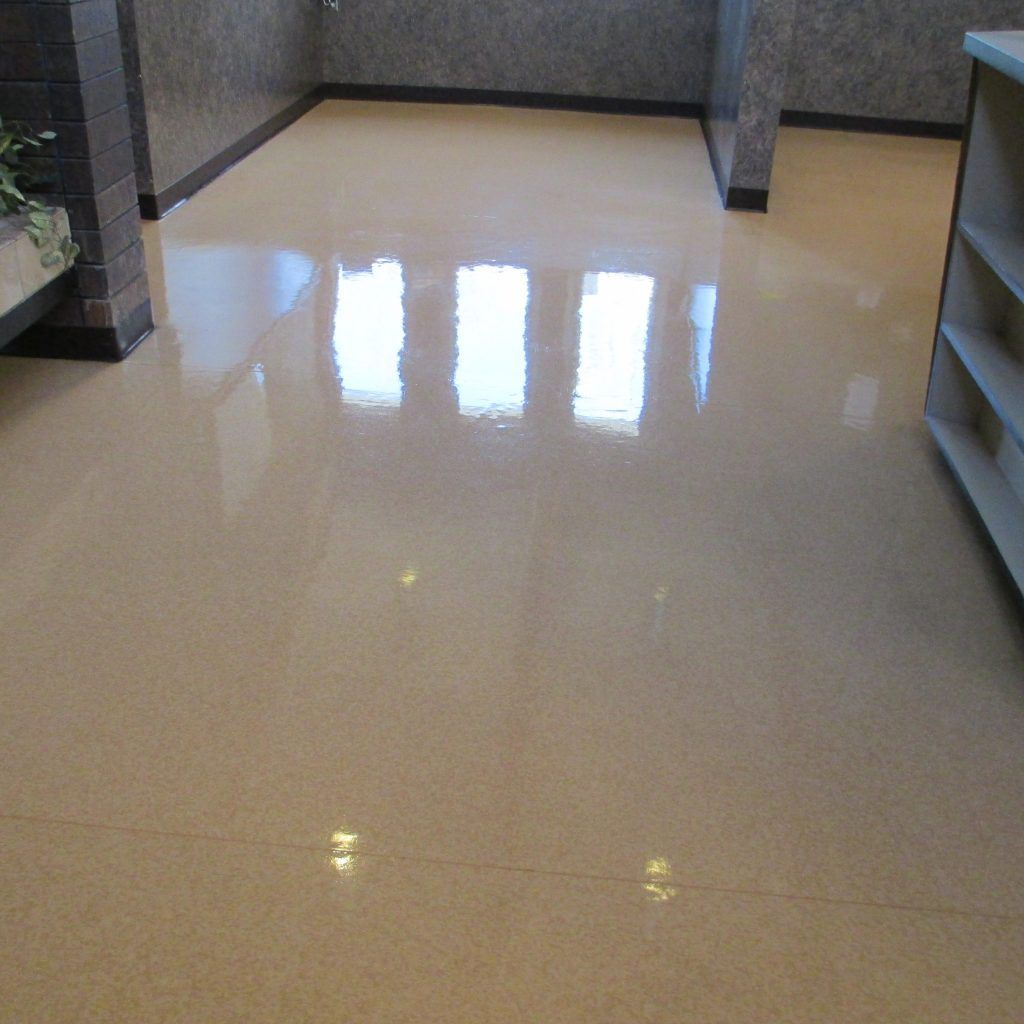 how to clean waxed tile floor