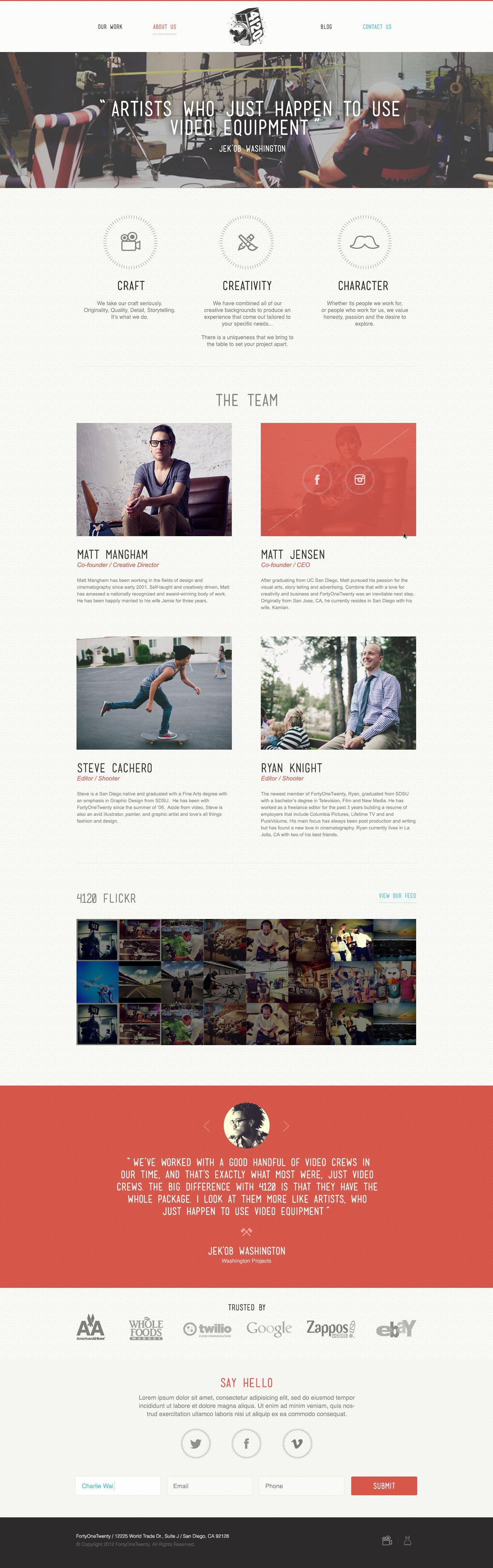 15 Beautiful Examples Of Web Design Inspiration Part 3 Web Design Inspiration Web Development Design Web Layout Design