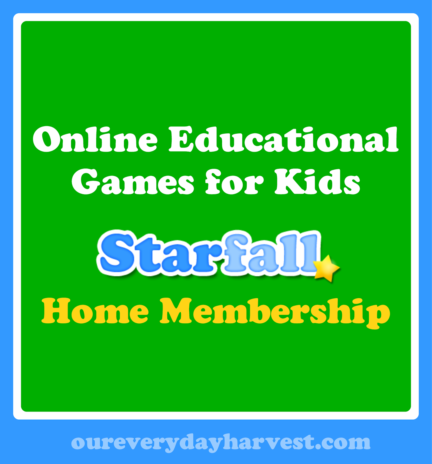 Online Educational Games For Kids The Starfall Home