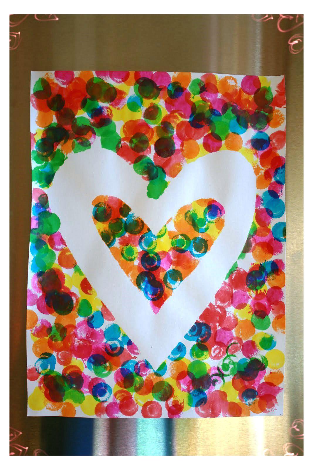 Soy Preescolar: #Ideas para #Febrero Utiliza cinta adhesiva para la ...