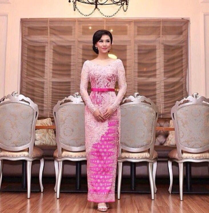 Pink Indonesia kebaya by Vera | Formal fashion | Pinterest | Viena y ...