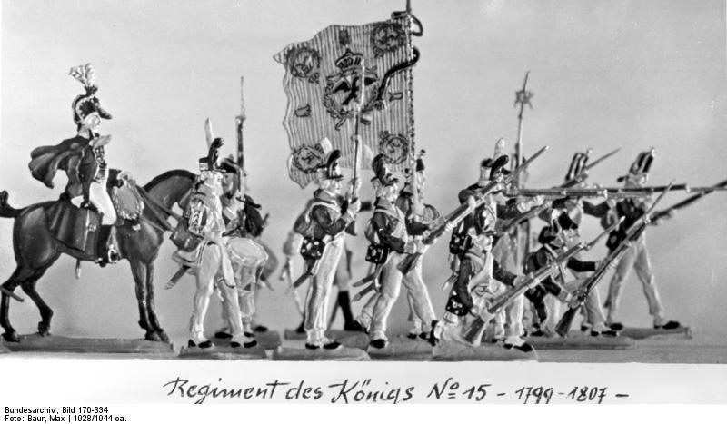 Bundesarchiv Bild 170-334, Potsdam, Zinnsoldaten - 足の第一近衛連隊 - ウィキペディア