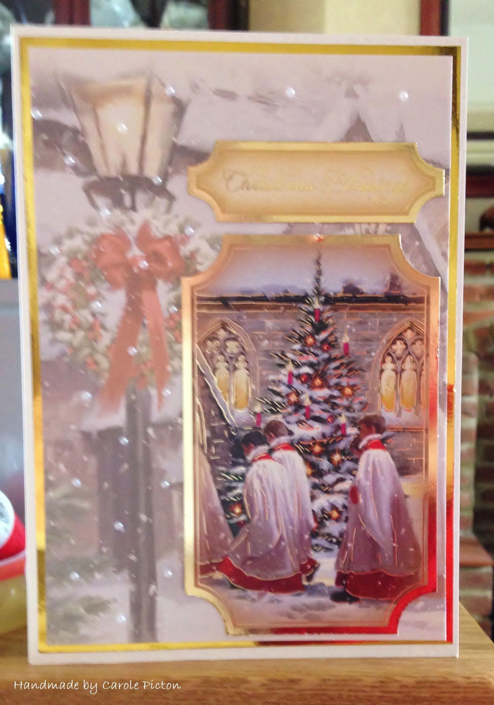 Christmas Card (74) - A5 - Hunkydory \'Traditional Christmas ...