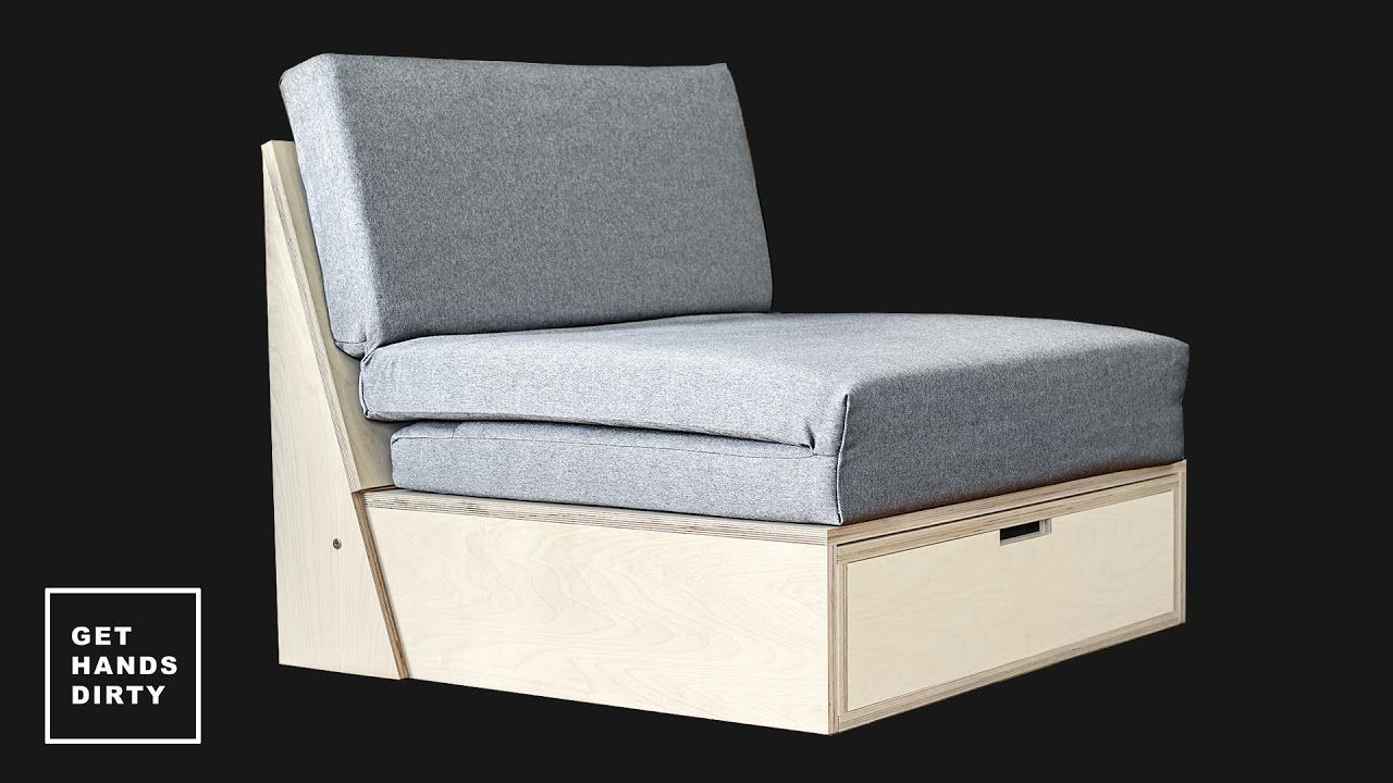 How To Make A Sofa Bed Youtube Klappbett Moderne