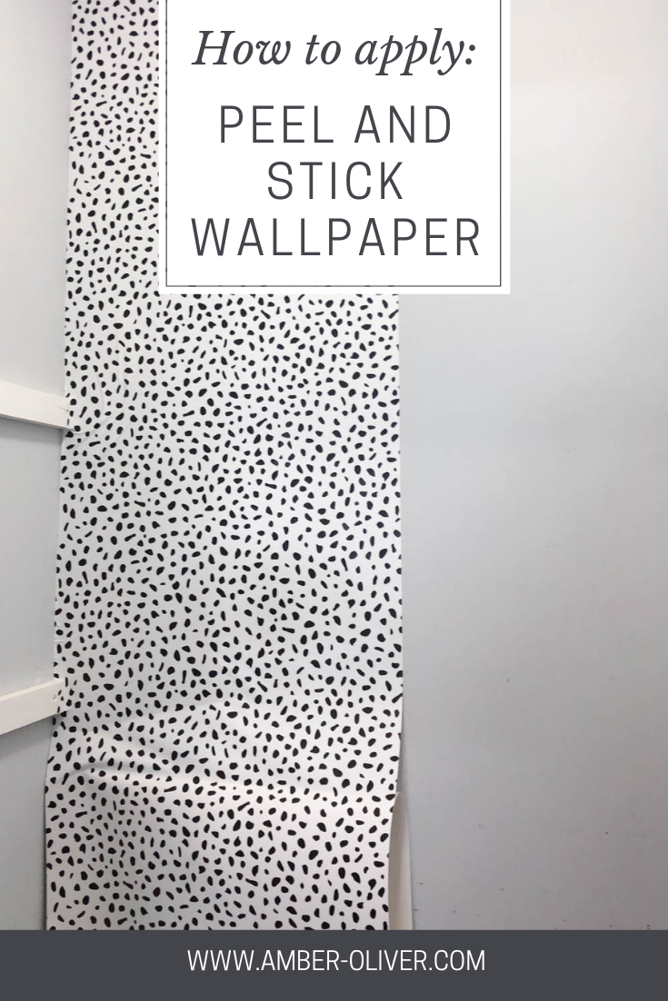 Learn How To Apply Peel And Stick Wallpaper Quickly And Easily See How We Transformed Our Peal And Stick Wallpaper Peel And Stick Wallpaper Stick On Wallpaper