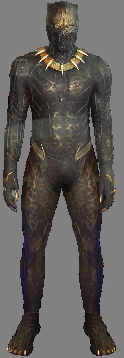 Killmonger Golden Jaguar Black Panther Movie Png By Gasa979 Black Panther Costume Golden Jaguar Black Panther Pin