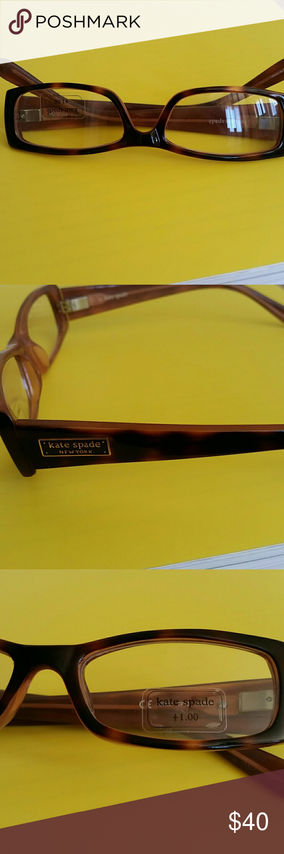 Kate Spade Reading Glasses NWOT beautiful Kate Spade Reading glasses. +1.0. kate spade Accessories Glasses