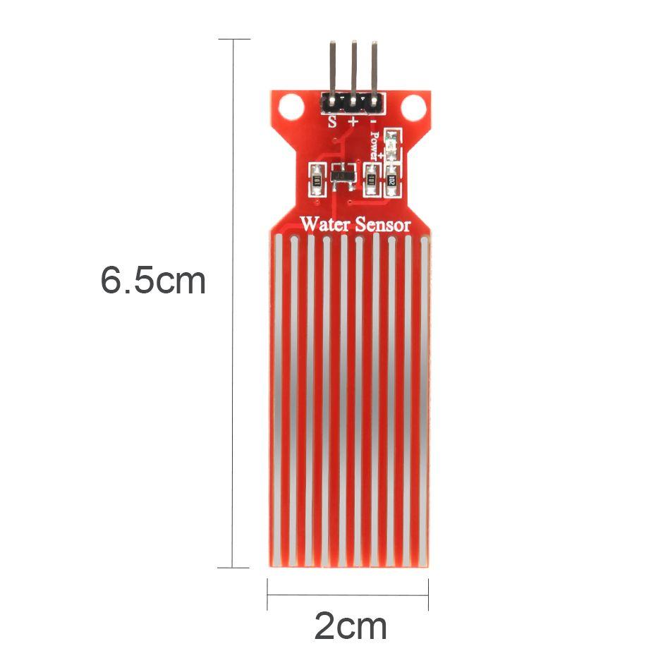 5pcs Rain Water Level Sensor Module Depth Of Detection Liquid Surface Height Flow Sensor For Arduino Level Sensor Sensor Arduino