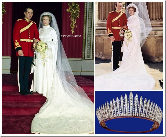 Princess Anne Wedding Tiara