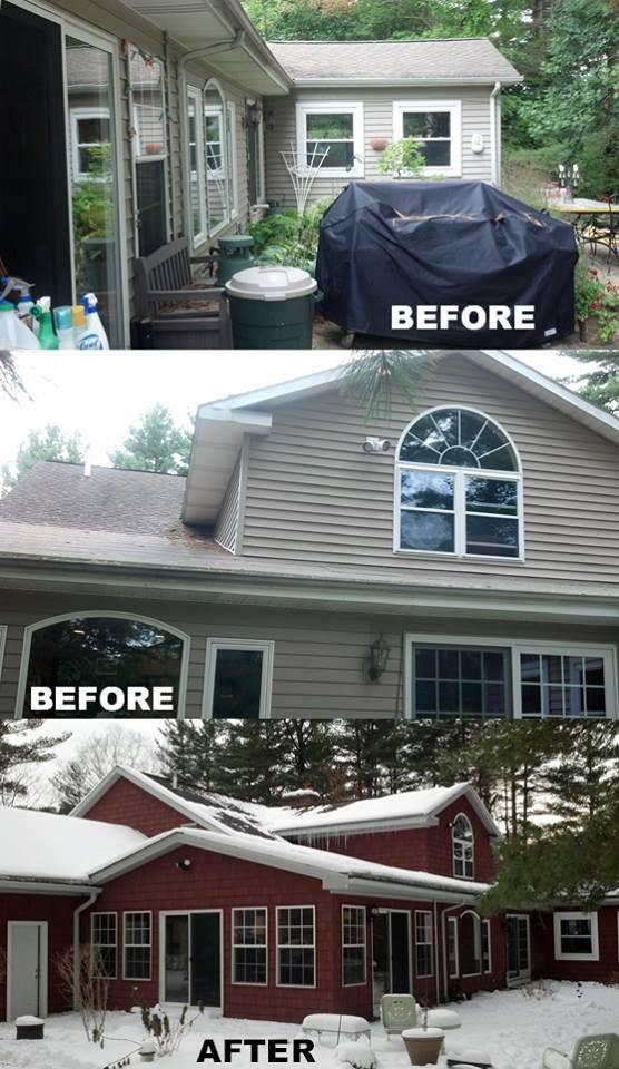 Complete Exterior Renovation Using Certainteed Cedar