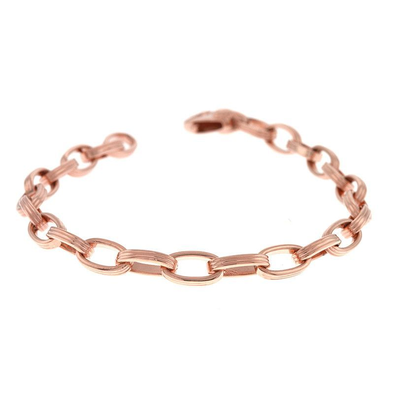 Italian Rose Gold Bracelet Rose Bracelets and Gold