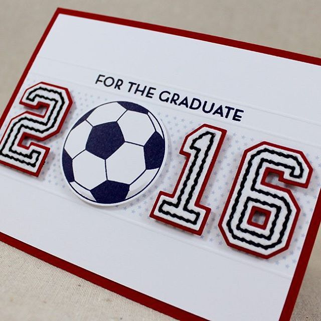 Get A Jump On Those Graduation Cards With Go For The Goal Project
