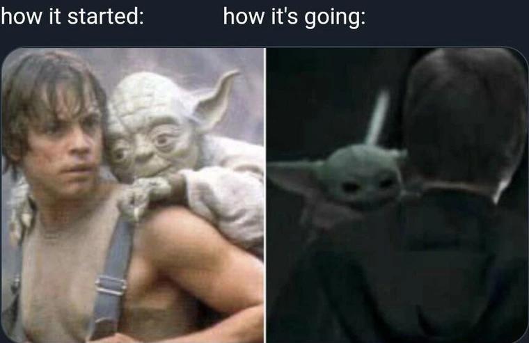 Some Mandalorian Meme Dump Spoilers Star Wars Humor Star Wars Facts Star Wars Geek