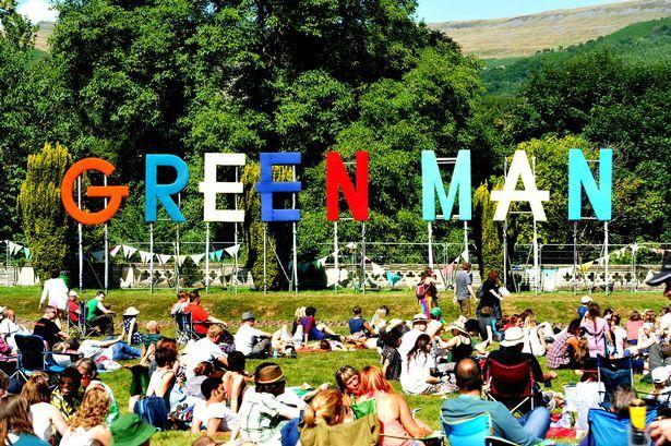 Image result for green man festival images