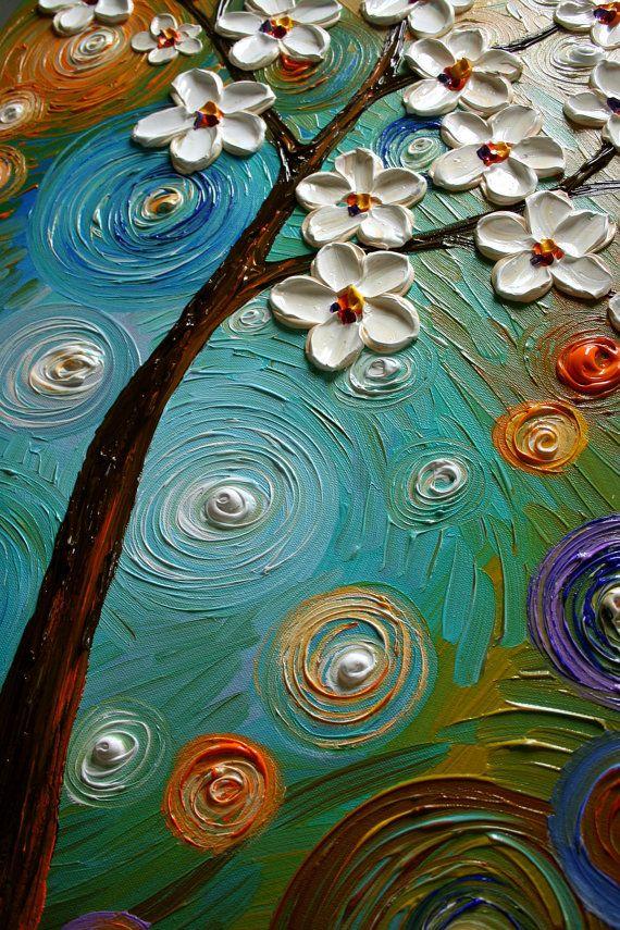 Texture texture texture paste art pinterest for Texture painting ideas canvas