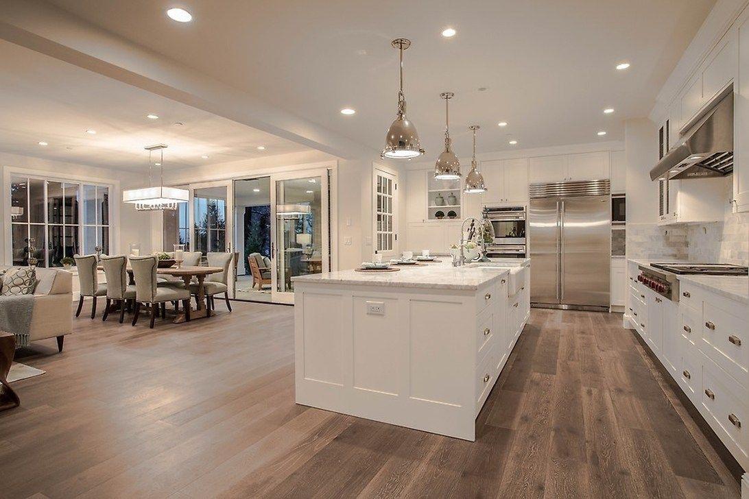 20 stunning open concept modern floor plans ideas modern farmhouse interiors farmhouse on farmhouse kitchen flooring id=50479