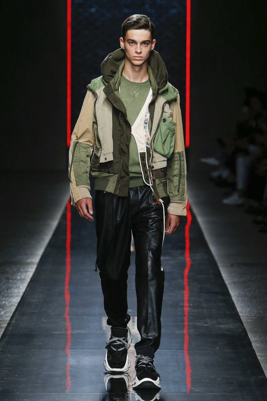 Dsquared2 Spring 2019 Menswear Fashion Show | Military