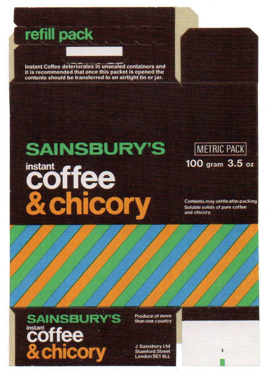 Sainsbury S Coffee With Images Packaging Labels Design