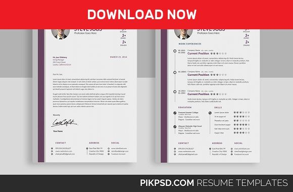 stylish resume template set by graphicforest on mywpthemes xyz