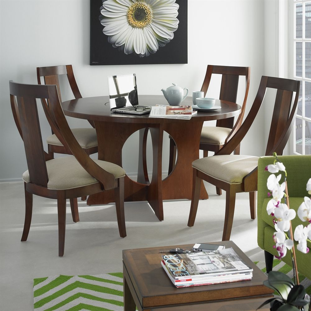 Somerton Dwelling 419 61 Manhattan Pedestal Dining Table At Atg S Browse Our Sets All With Free Shipping And Best Price Guaranteed