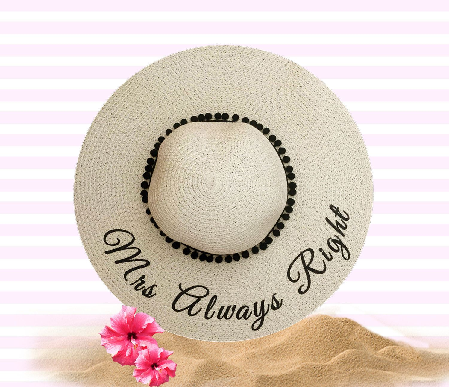Mrs always right hat anniversary gift for her
