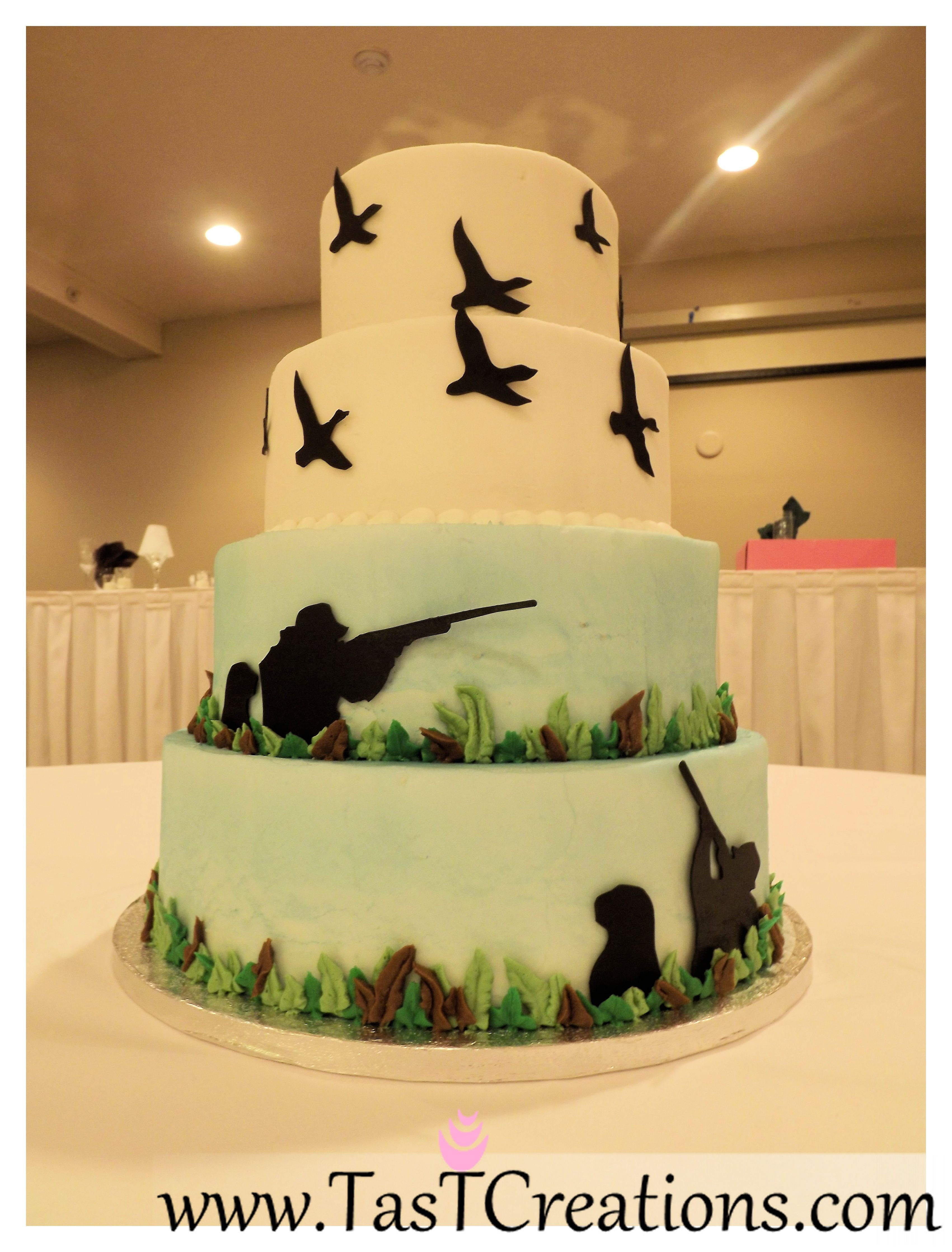 Hunting Themed Wedding Cakes - Wedding Cake Flavors