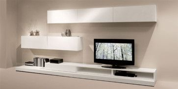 Natuzzi Novecento Wall Units Modern Media Storage At