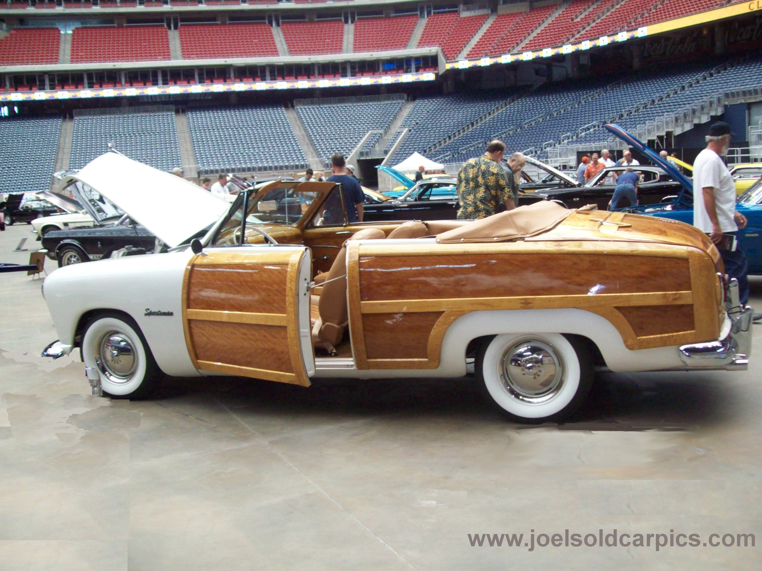 1949 Ford Sportsman Woodie Convertible | Joel\'s Old Car Pictures ...